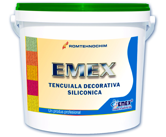 Tencuiala Decorativa Texturata.Tencuieli Decorative Emex By Romtehnochim